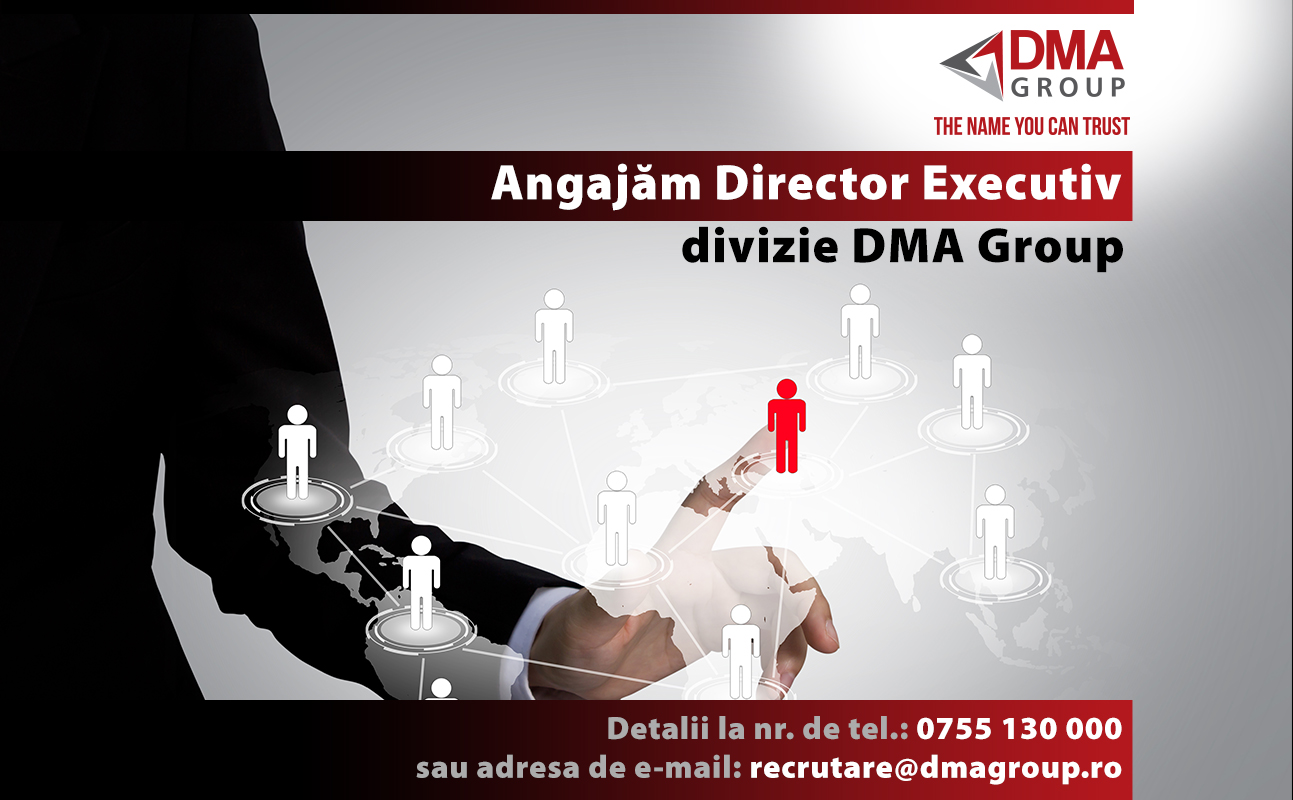 Director executiv divizie DMA Group